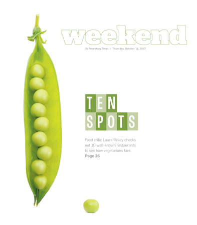 St. Petersburg TimesWeekend: Ten Spots: Vegetarian Restaurants
